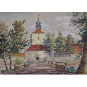 Antoni Kierpal (1898-1960), Klasztor (1954)