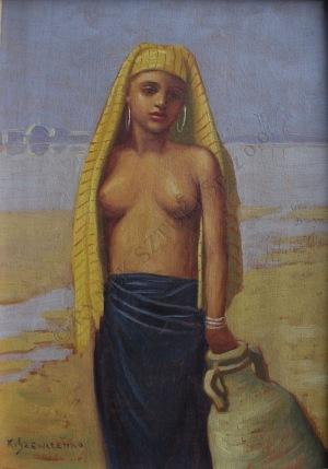 Konstanty Szewczenko (1910-1991), Dziewczyna z dzbanem
