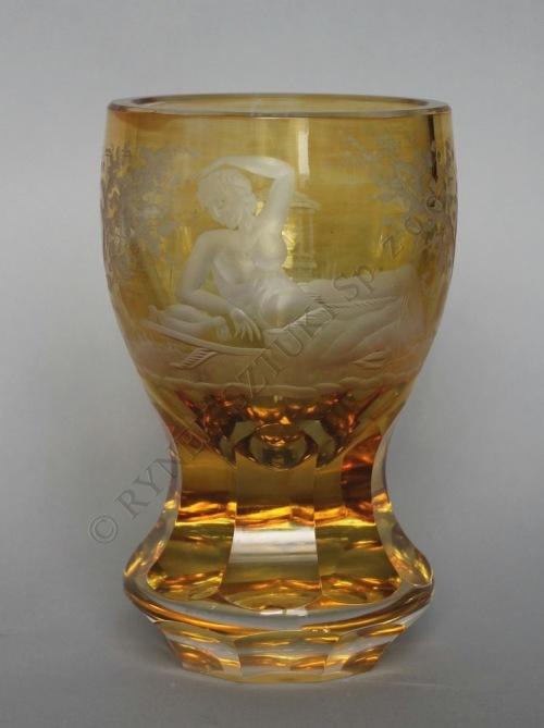 Puchar miodowy w typie biedermeier (pocz.XX w.)