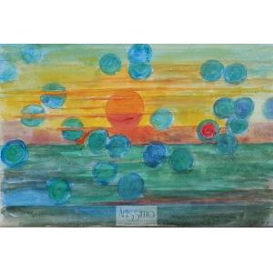 Stanisław Wałach, Widok słońca i jego powidok niewiarygodnie fascynujący, 1979
