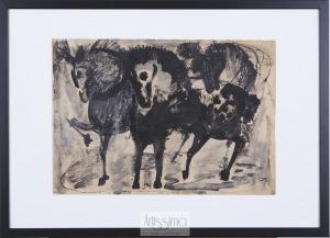 Barbara Jonscher, Trzy konie
