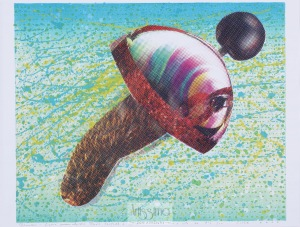 Zbigniew Gorlak, Rhombus – figura pneumatyczna łącząca farfocel z syfonem, 2000