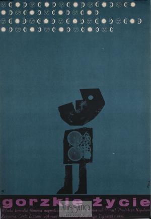 Jerzy Flisak, Plakat filmowy Gorzkie życie, 1965
