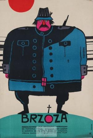 Bohdan Butenko, Plakat filmowy Brzoza, 1968