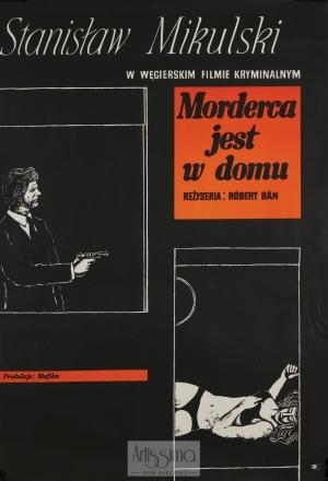 Marian Stachurski, Plakat filmowy Morderca jest w domu, 1971