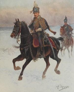 Jan CHEŁMIŃSKI, Alphonse - Marie MALIBRAN, Armia Księstwa Warszawskiego (L'Armee du Duche de Varsovie)