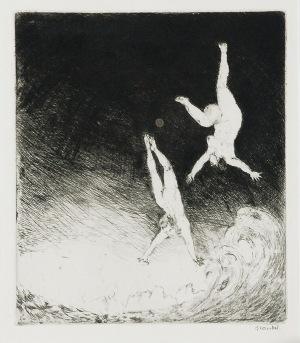 Konstanty BRANDEL (1880-1970), L'Abime - W otchłań, 1913