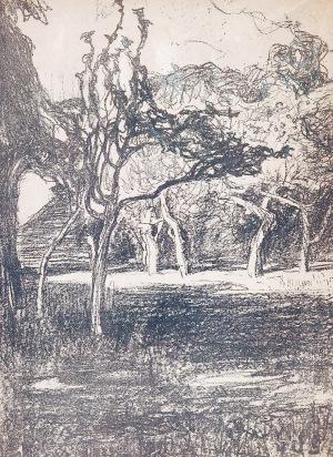 Jan STANISŁAWSKI (1860-1907), Sad w słońcu