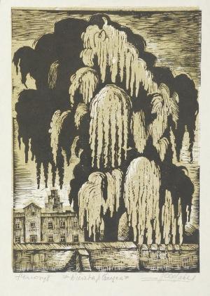 Zygmunt ACEDAŃSKI (1909-1991), Wierzba płacząca