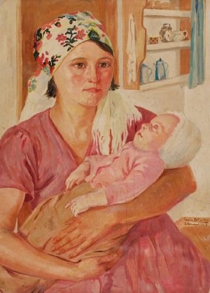 Roman BILIŃSKI (1897-1981), Maternita, 1935