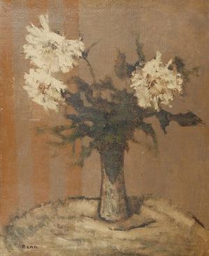 Bencion RABINOWICZ - BENN (1905-1989), Chryzantemy