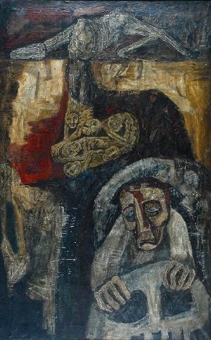 Stanisław WAŁACH (1919-1983), Kierowca, 1975