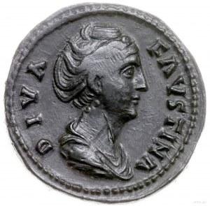 as 147, Rzym; Aw: Popiersie cesarzowej w prawo, DIVA FA...