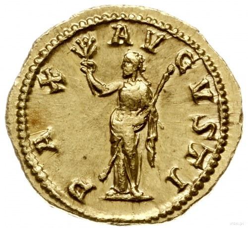 aureus 238-239, Rzym; Aw: Popiersie cesarza w prawo, IM...