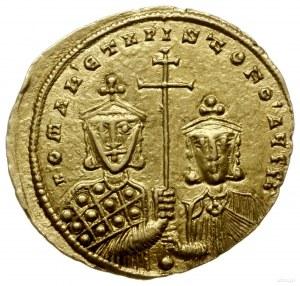 solidus 924-931, Konstantynopol; Aw: Chrystus Pantokrat...