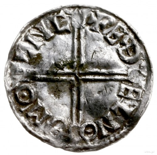denar typu long cross, 997-1003, mennica Lincoln, mince...
