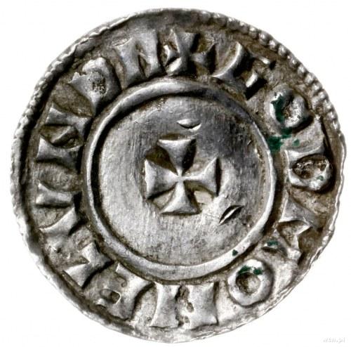 denar typu small cross, 1009-1017, mennica London, minc...