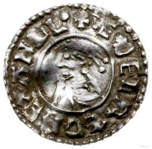denar typu small cross, 1009-1017, mennica Worchester, ...