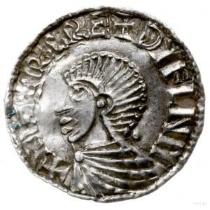 naśladownictwo denara typu long cross; SIHTRIC REX DYFL...