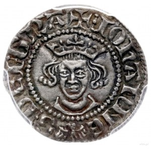 esterlin bez daty (przed 1335 r.; Aw: Popiersie na wpro...