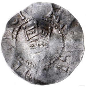 denar 1014-1024; Aw: Głowa na wprost, HEINRICVS IMPERAT...