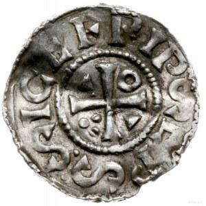 denar 1000-1006, mincerz Vilja; Krzyż z kółkiem i dwoma...