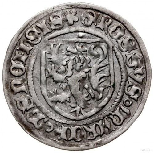 grosz miśnieński, ok. 1412-1424, mennica Freiberg; Aw; ...