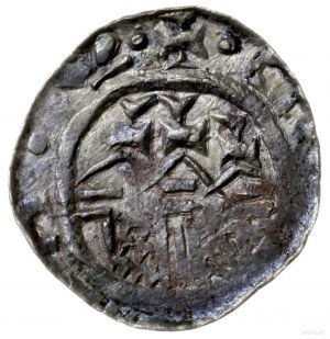 denar 1081-1102, Kraków lub Płock; Aw: Głowa w lewo, VL...