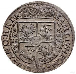 ort 1622, Bydgoszcz; końcówka napisu PRVS M; Shatalin B...