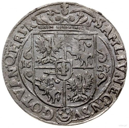 ort 1623, Bydgoszcz; końcówka napisu PRV M; Shatalin BD...