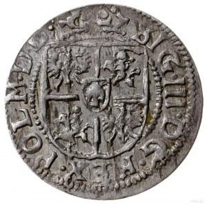 grosz (półtorak) 1616, Ryga; ciekawsza odmiana z napise...