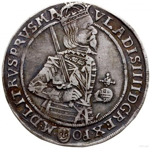 półtalar 1634, Bydgoszcz; Aw: Półpostać króla w prawo i...