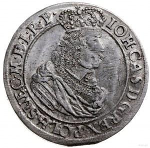 ort 1663, Gdańsk; herb Lewek w tarczy dzieli datę 16-63...