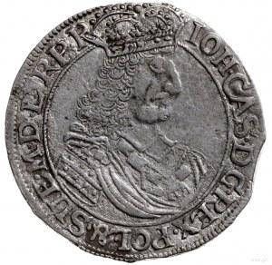ort 1661, Elbląg; H-Cz. 2205 (R1), Kop. 7127 (R3), Pfau...