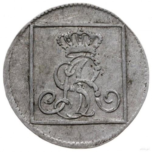 grosz srebrny 1773 AP, Warszawa; Plage 222, Berezowski ...