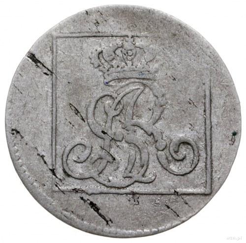grosz srebrny 1776 EB, Warszawa; Plage 225, Berezowski ...
