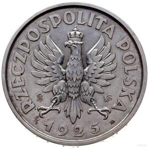 5 złotych 1925, Warszawa; Konstytucja, ze 100 perełkami...