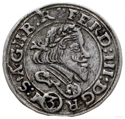3 krajcary, 1648, Skoczów; F.u.S. 3081, Kop. 5694; rzad...
