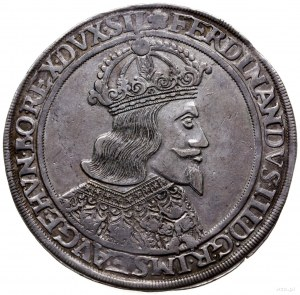 talar 1650, Wrocław, Aw: Popiersie w prawo i napis woko...
