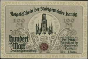100 marek 31.10.1922, numeracja 108392; Miłczak G1, Jab...