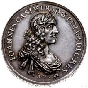 medal z 1660 r. autorstwa Jana Höhna młodszego wybity z...