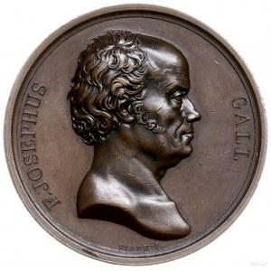 medal z 1820 r. autorstra Barre'a poświęcony Franciszko...