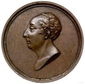 medal z 1824 r. autorstwa C. Baerendta poświęcony Adamo...