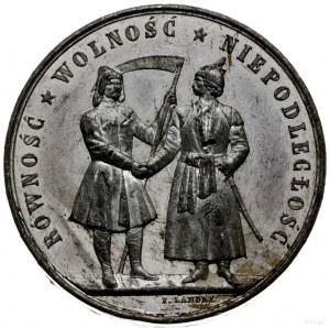 Powstanie Styczniowe 1863-1864, medal z 1863 r. autorst...