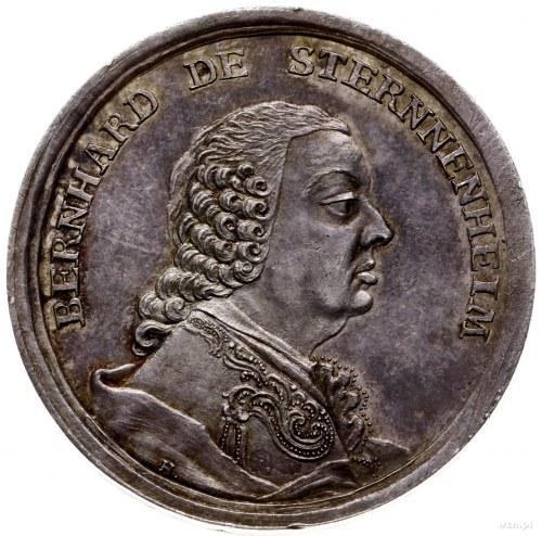 medal z 1771 r. autorstwa J. Helda, wybity z okazji śmi...