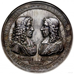 medal z 1672 r. autorstwa Pierre'a Avry'ego wykonany dl...