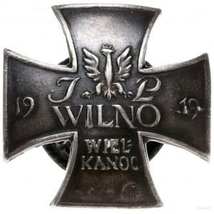 odznaka pamiątkowa z 1919 r. za obronę Wilna w wojnie z...