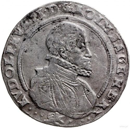 talar 1598, Kutná Hora; Aw: Popiersie w prawo, wokoło n...