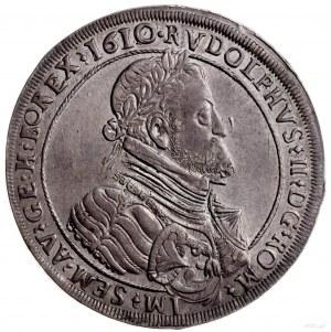 talar 1610, Hall; odmiana z datą w otoku, Aw: Popiersie...