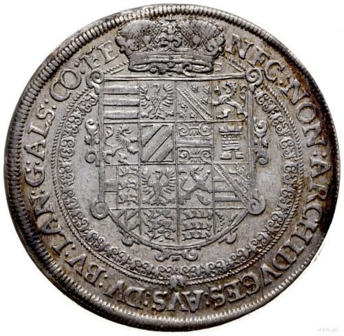talar 1611, Ensisheim; Aw: Popiersie w prawo, wokoło na...